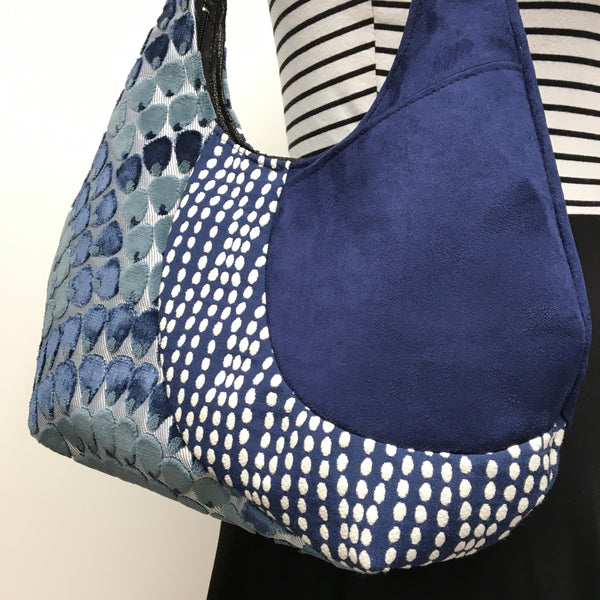 Hobo Bag Navy Blue Mermaid
