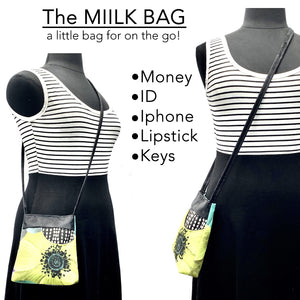 MIILK Bag Lemur Bamboo Party / Black & White Polka Dots