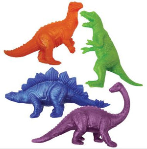 Dinosaurs Stretchy Fidget Set, Assorted Color, Set of 4