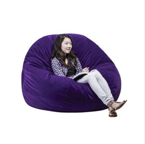 FluffChair, Large, 50 Inches, Purple