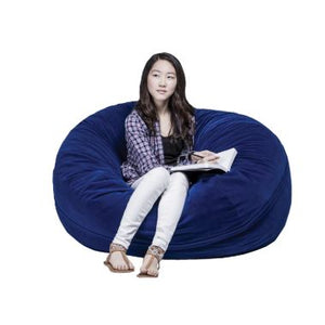 FluffChair, Medium, 43 Inches, Blue