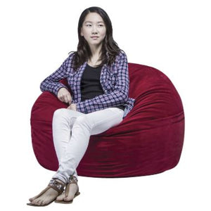 FluffChair, Small, 39 Inches, Red