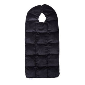 Relaxer Travel Sized Weighted Blanket, Medium, Navy Blue
