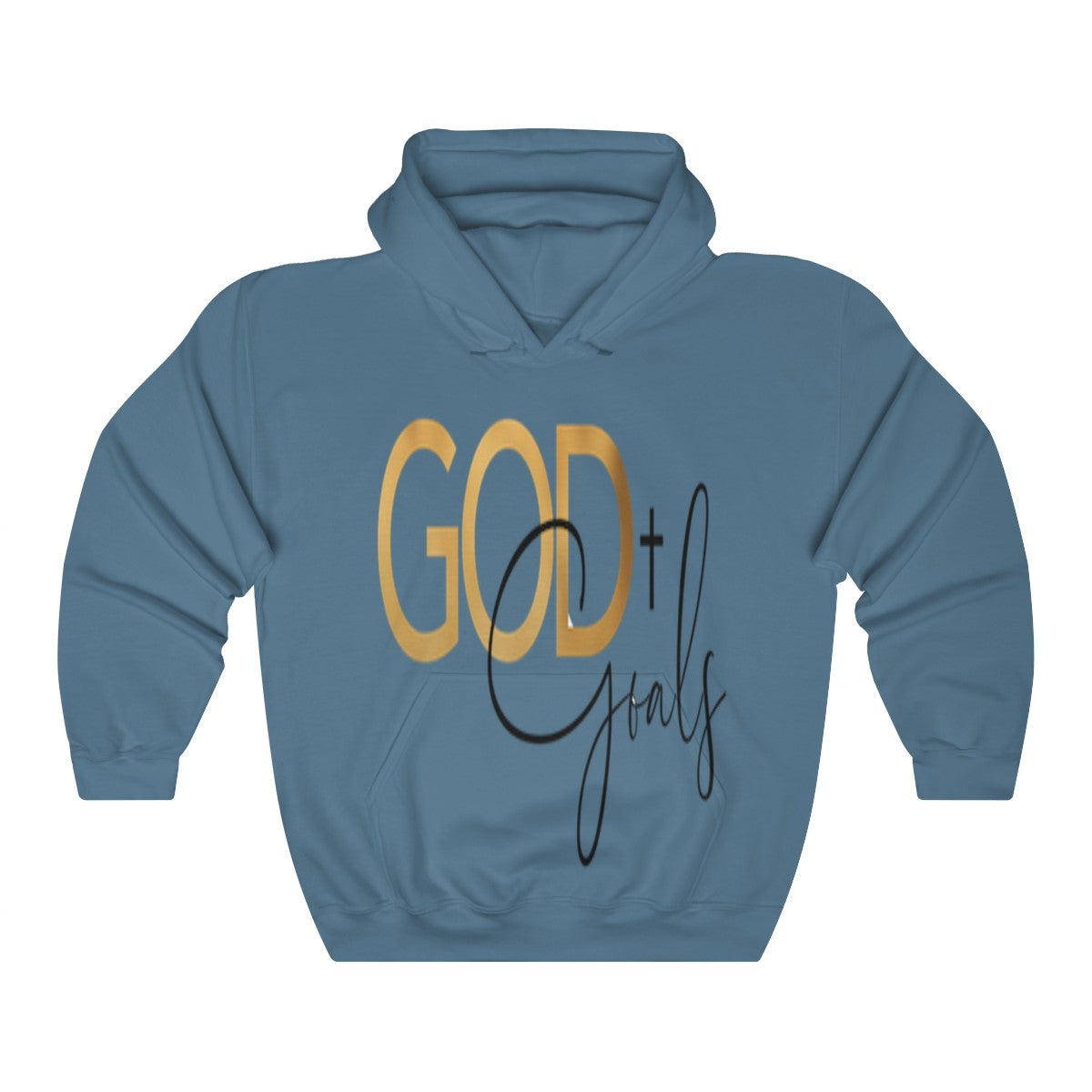 God +Goals Unisex Heavy Blend™ Hooded Sweatshirt