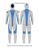 Oceaner CO45 spearfishing wetsuit is one of the highest quality, custom made spearfishing wetsuits available on the market. Made with the finest Yamamoto 45 neoprene, and fully custom fitted to each individual, this freediving wetsuit is the only one you will need.