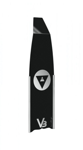 Alchemy V3 freediving fins are top quality carbon fibre construction fins for the most demanding of aquatics tasks. Used in many diving situations, spearfishing, deep freediving and training.