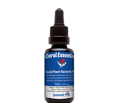 Coral Power Bacteria Food (50 ml) - freakincorals.com