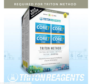 Triton Core 7 (Triton Method 4 x 4 lt) Bulk Edition - freakincorals.com