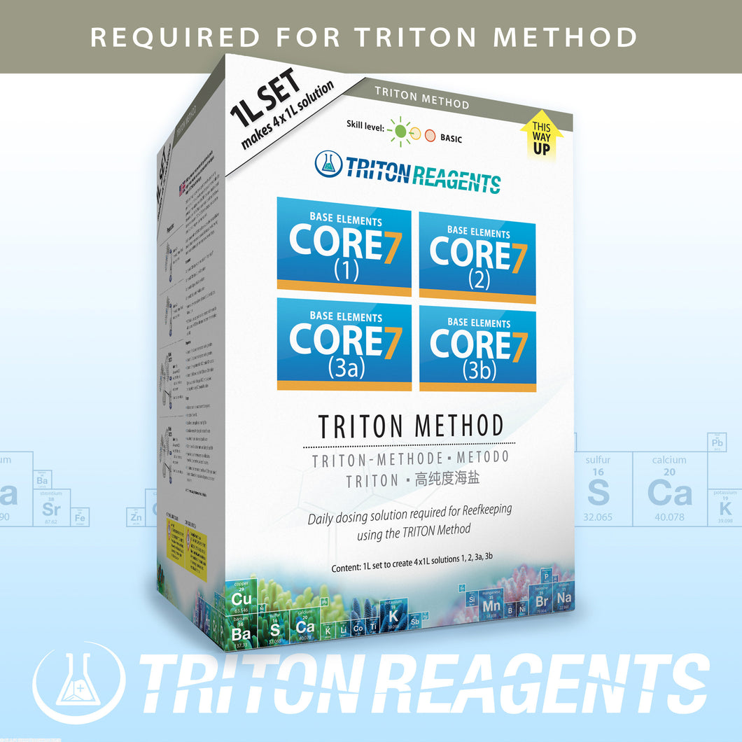 Triton Core 7 (Triton Method 4 x 1 lt) - freakincorals.com