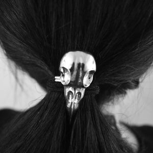 Crow Skull Hair Band