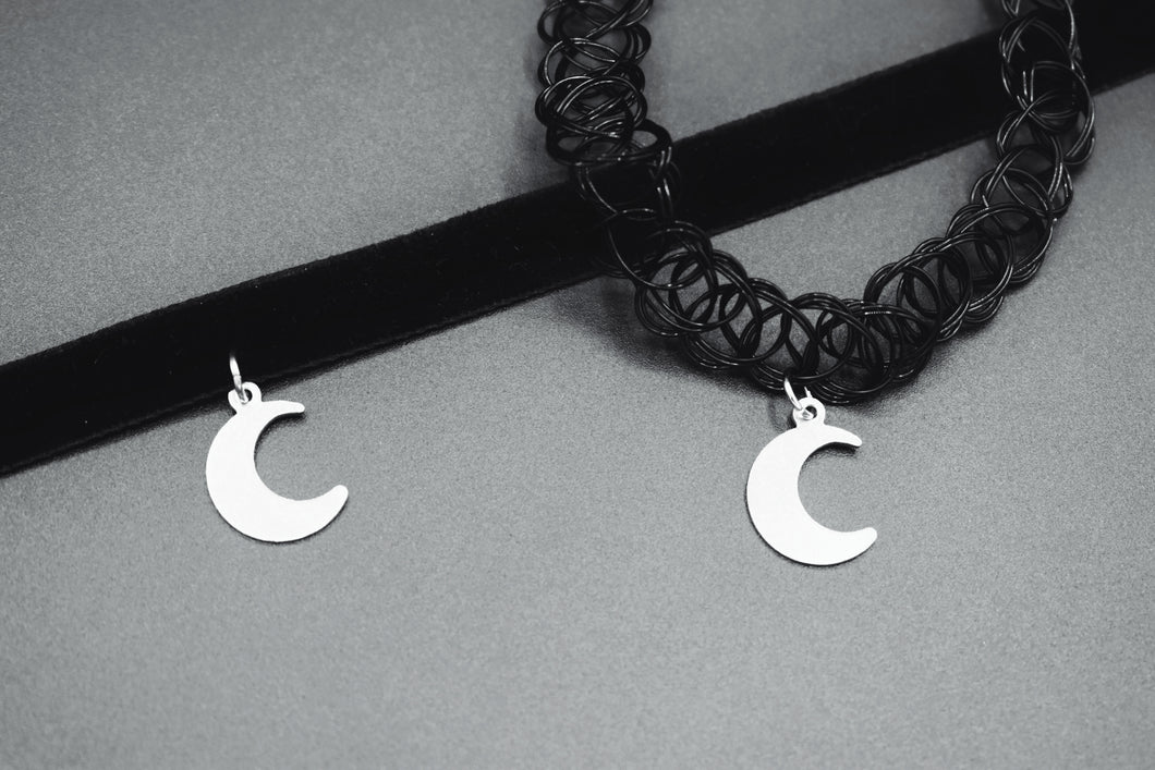 Steel Moon Choker