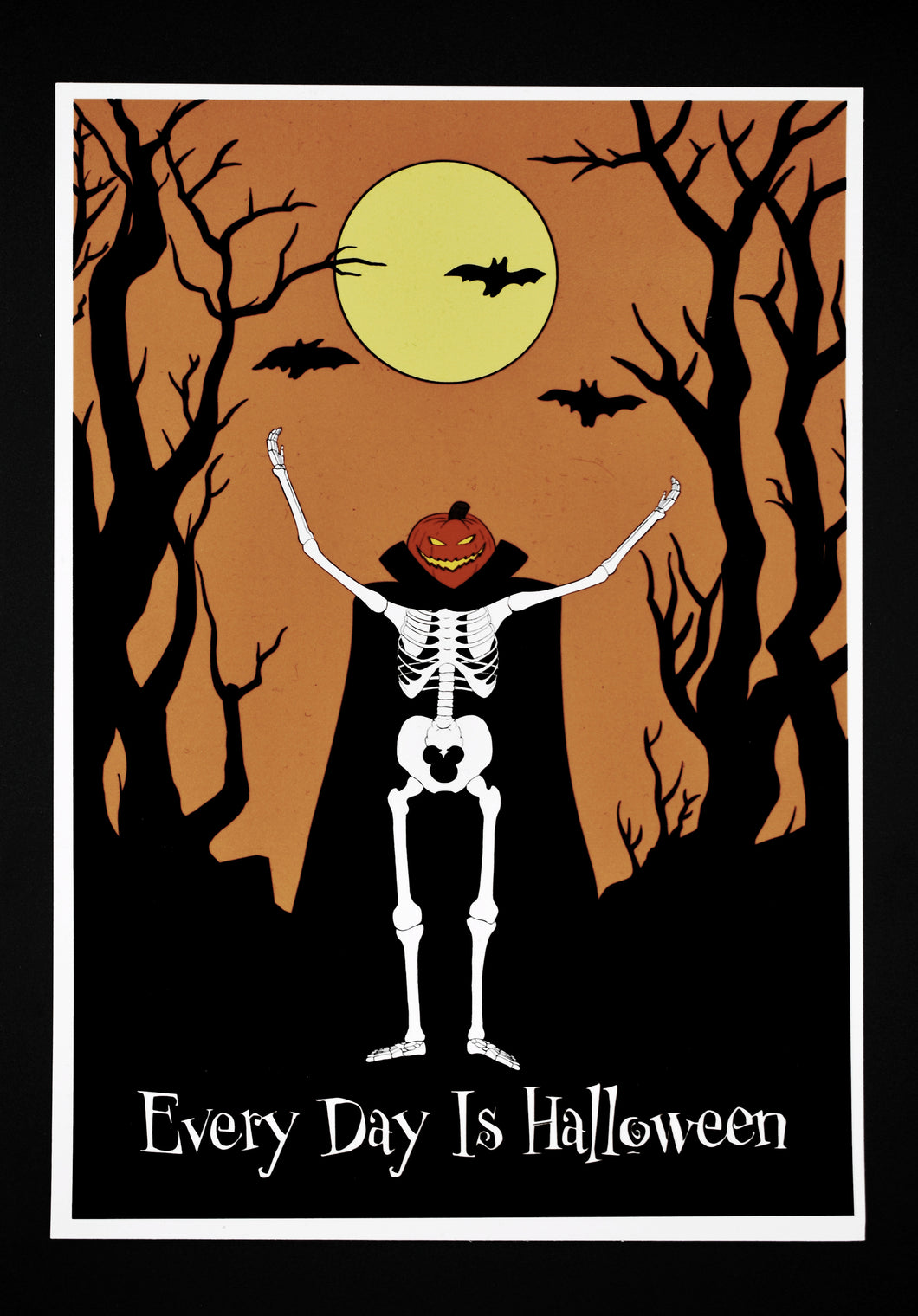 Every Day is Halloween - A5 Art Print