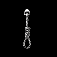 Load image into Gallery viewer, Hang Man's Noose Stud Earring