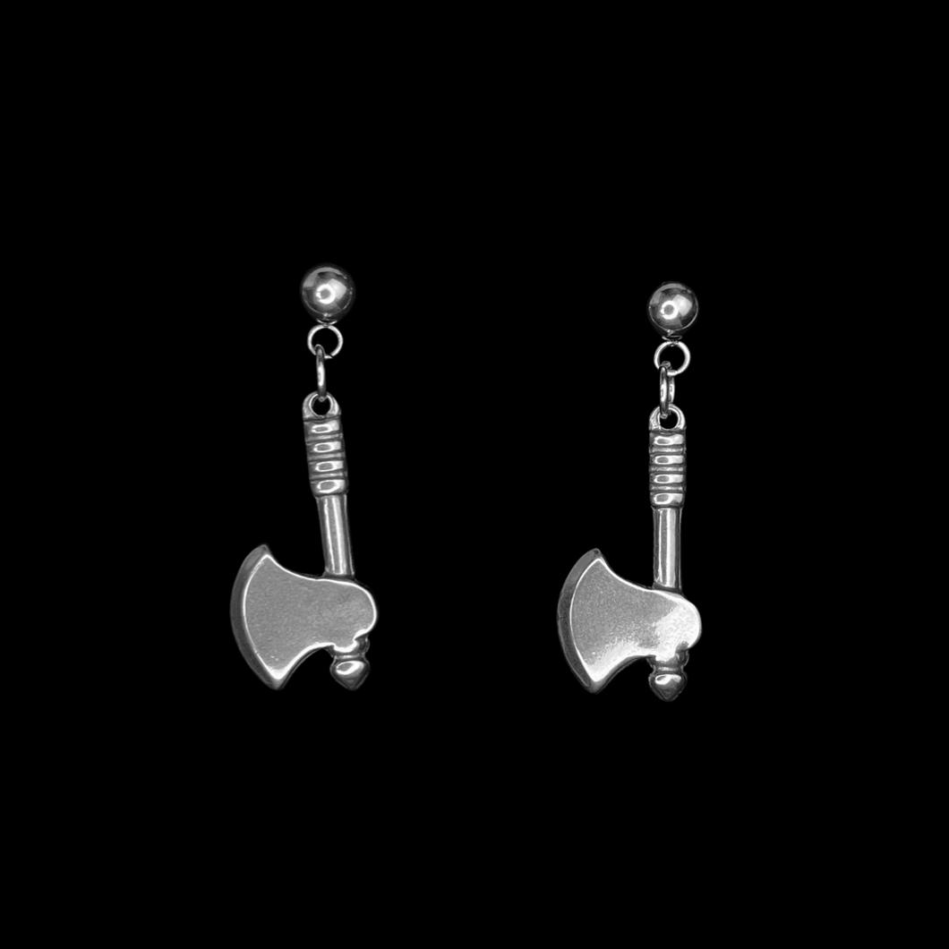 Borden: Axe Earrings