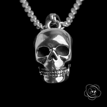 Load image into Gallery viewer, 3D Skull Necklace