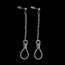 Load image into Gallery viewer, Gallows Noose Earrings