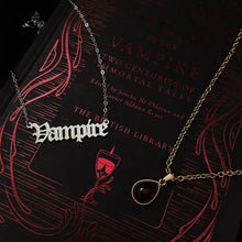 Load image into Gallery viewer, Vampire Necklace
