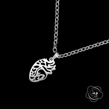Load image into Gallery viewer, Anatomical Heart Necklace