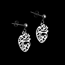 Load image into Gallery viewer, Anatomical Heart Earrings