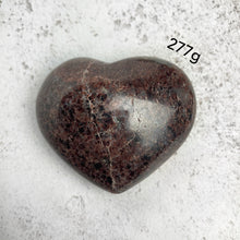Load image into Gallery viewer, Garnet Heart