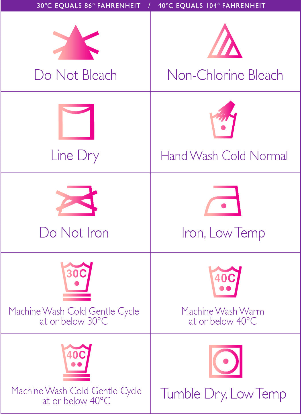 How to wash & care for Leggings Juicy-Junk.com