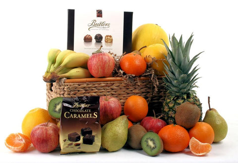 Fresh Fruit & Chocolate Basket