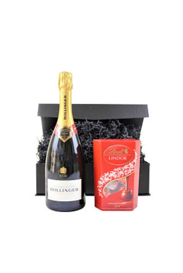 Champagne and Chocolate Gift Box