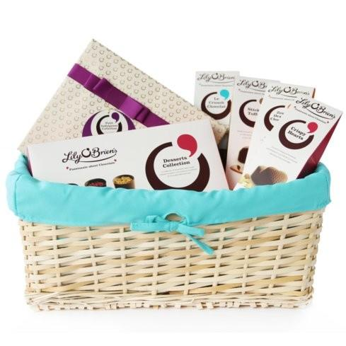Chocolate Gift Basket to Treat