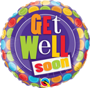 Get Well Dots Balloon Bouquet