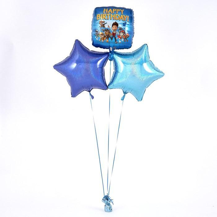 Paw Patrol Happy Birthday Blue Balloon Bouquet