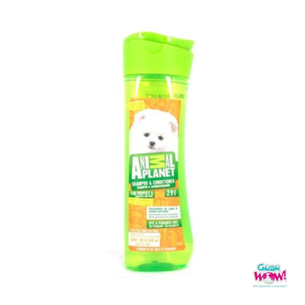 Shampoo Acondicionador Cachorros Animal Planet con Avena 300 ml