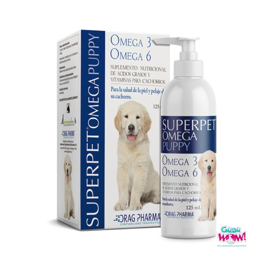 Superpet Omega Puppy X 125 ML