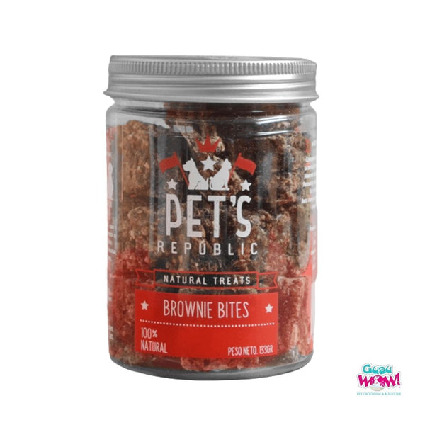 Pet's Republic brownie bites x 133g