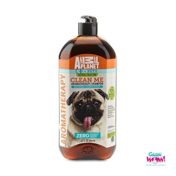 Shampoo Animal Planet Natural Aromaterapia Lavanda 650 ml