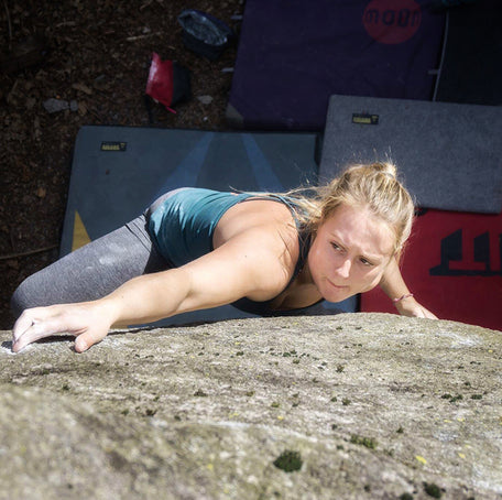 Bouldering in Brione