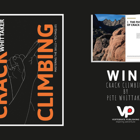 WIN: Crack Climbing by Pete Whittaker