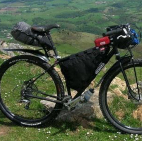 How to pack your bikepacking frame bag