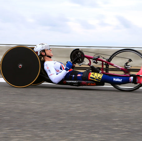 Mel Nicholls' Handcycle Britain World Record Attempt