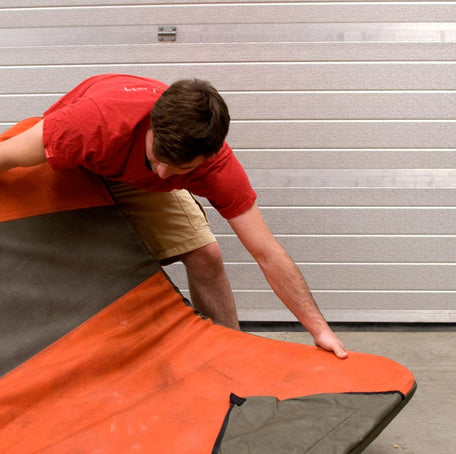 How to store your bouldering mat