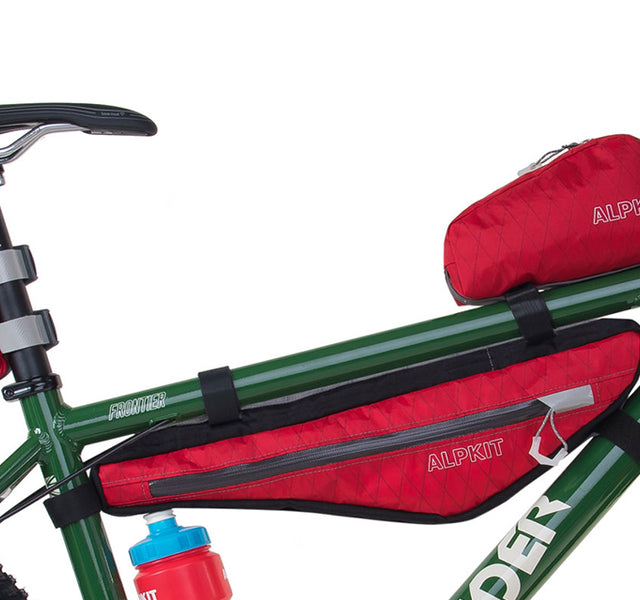 Bike luggage for self-supported mountain bike adventures