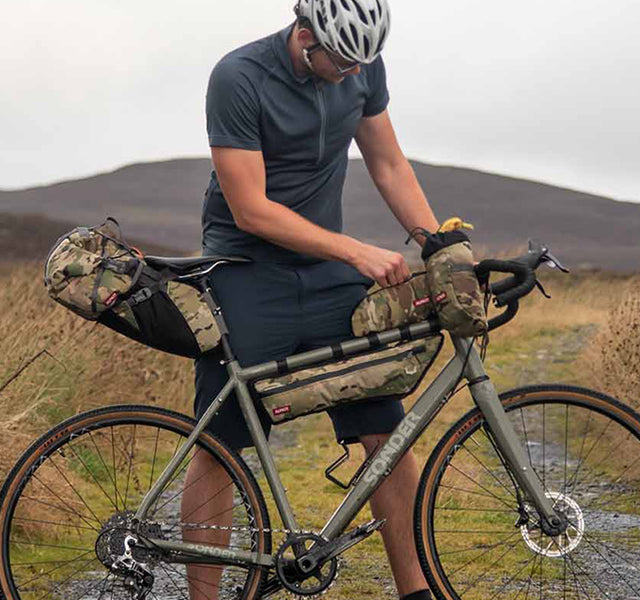 Limited Edition Camo Print Bikepacking Bags