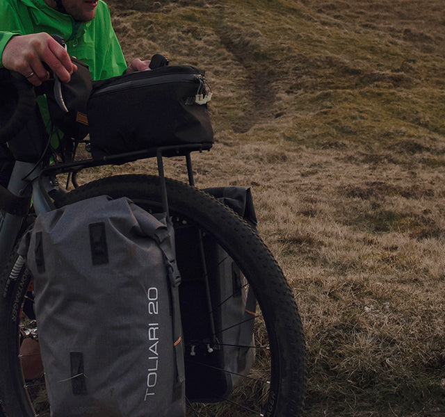 Waterproof Panniers and Bikepacking Bags
