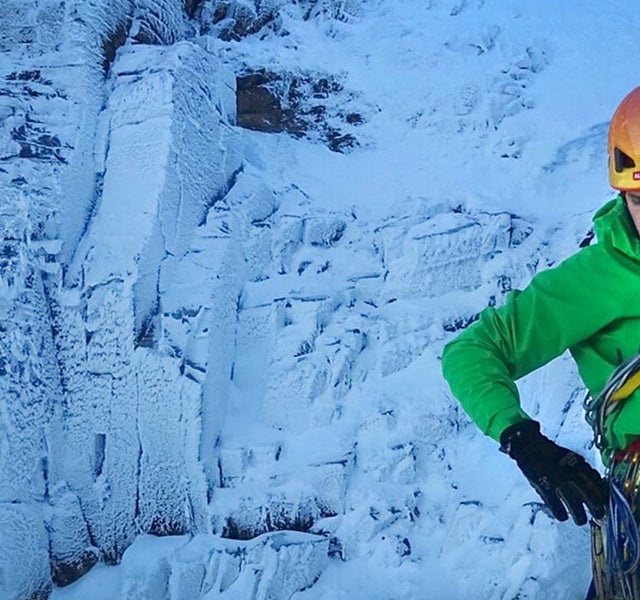 Winter climbing essentials