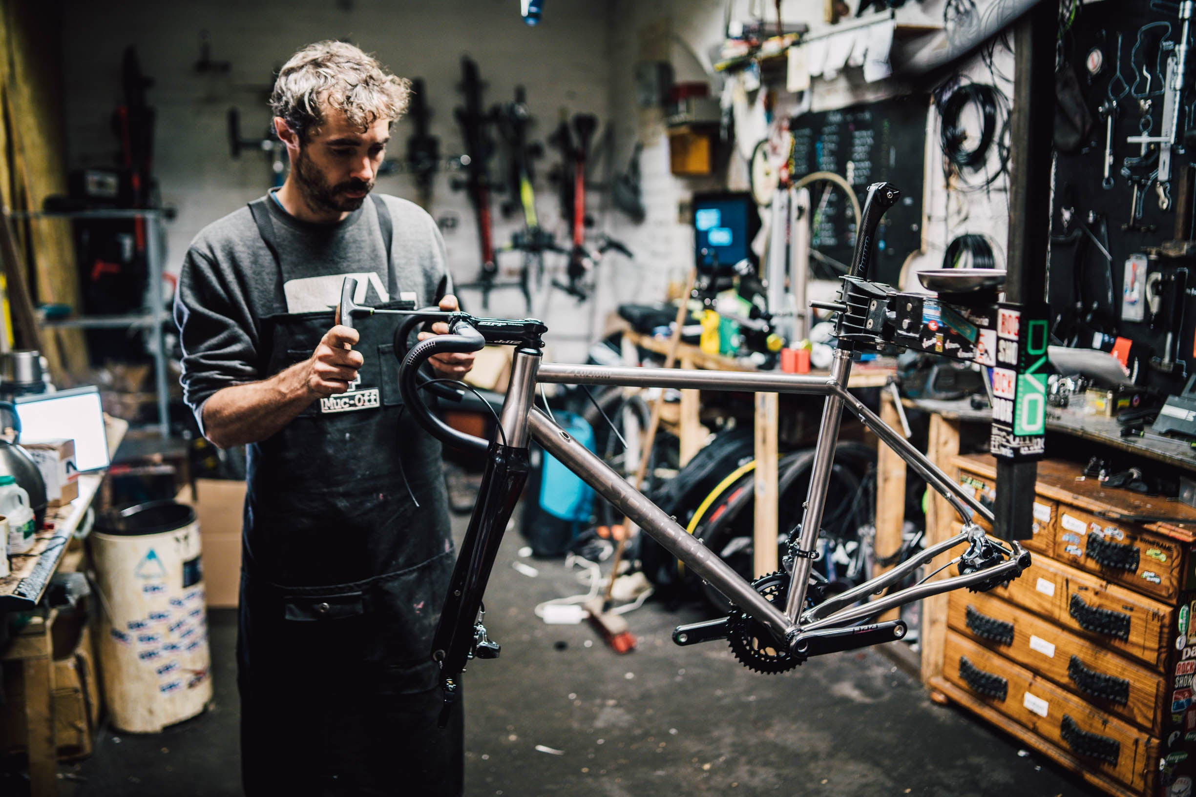 Routine maintenance bike checks - Alpkit