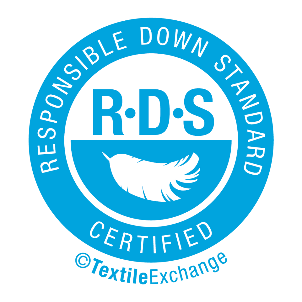 Responsible Down Standard RDS Ethically sourced down
