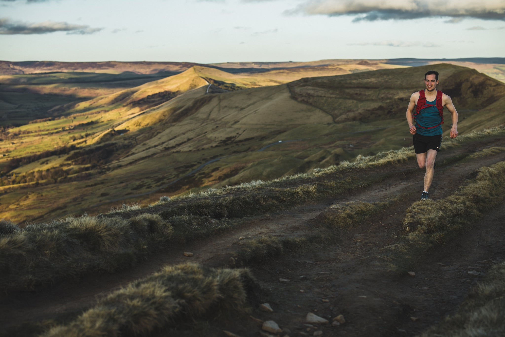 Trail running in the Peak District