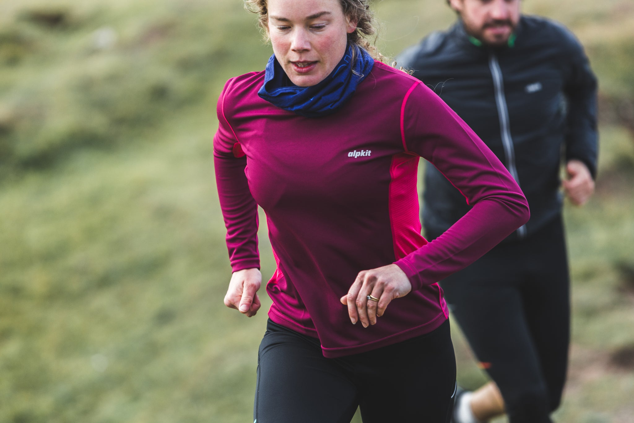 Trail running clothing - base layers and windproofs
