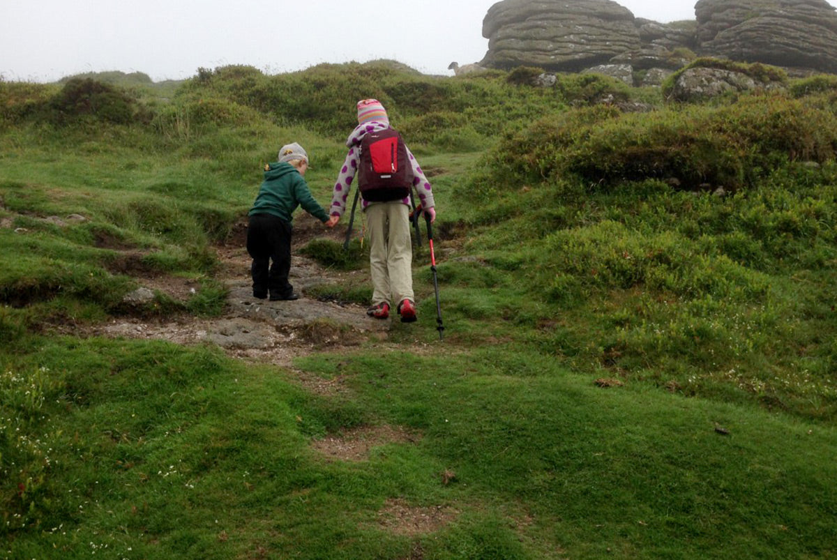 ></span></p>  <p><span>We parked up on the moor, had a lovely mile or so walk up to a tor, my 2 brother ran most of the way! It was a beautiful evening with stunning light and we found ourselves a rare flat spot, although it was between two large blocks and so there was a bit of a wind tunnel effect going on.</span></p>  <p></span></p>