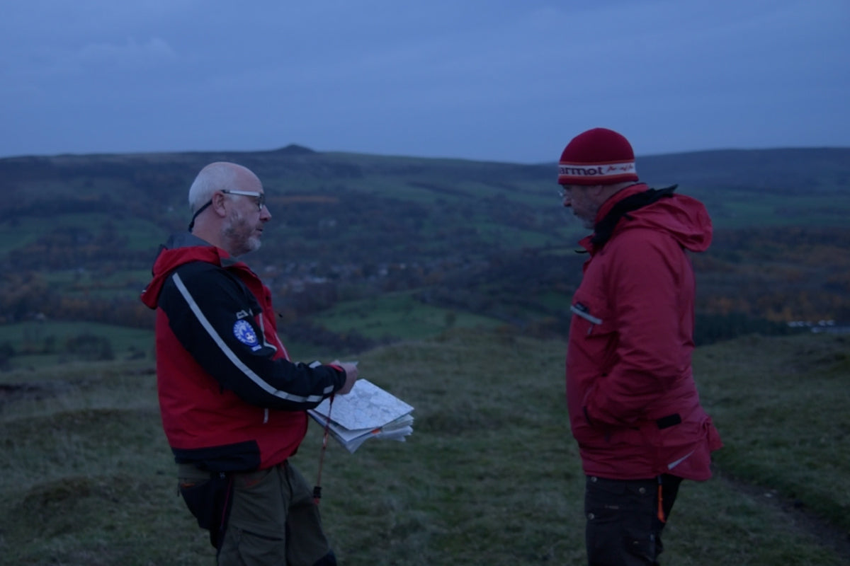 The man, the myth, the legend... Dave Torr of Edale Mountain Rescue