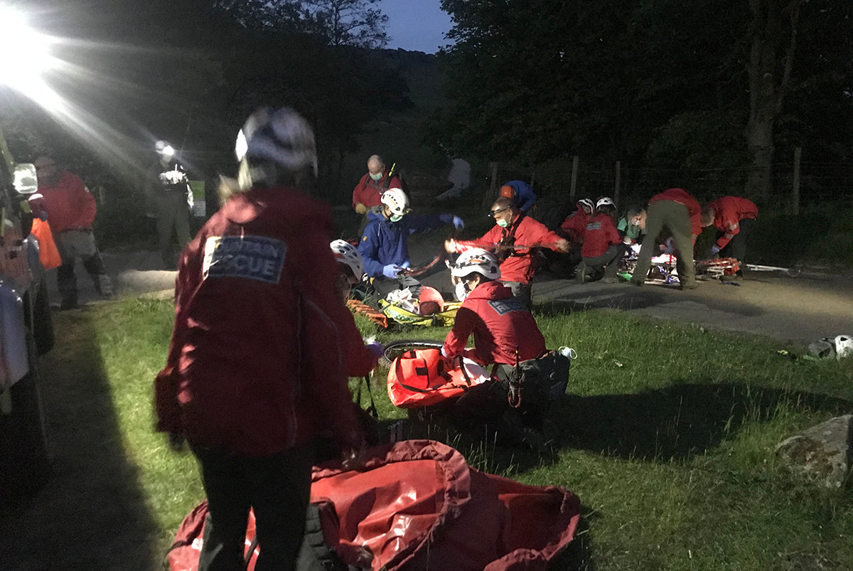 Edale Mountian REscue
